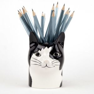 Pot à Crayon Chat Quail