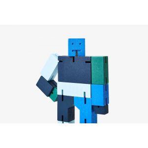 Robot en bois Cubebot