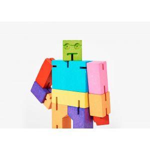 Robot en bois Cubebot...