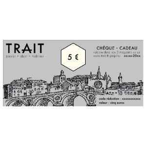 Chèque Cadeau 5€