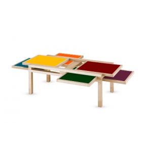 Table Hexa Sculptures Jeux