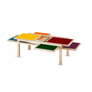 Table Hexa Sculptures Jeux