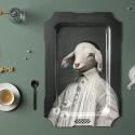 Plateau mural l'agneau Ibride